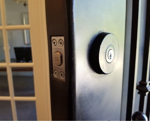 indoor door security locks