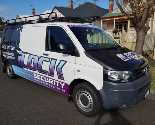 Emergency Locksmith vehicle